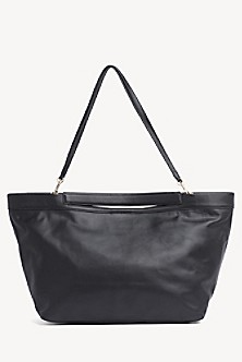 a1e6000d2d20 Zendaya Pure Leather Shopper