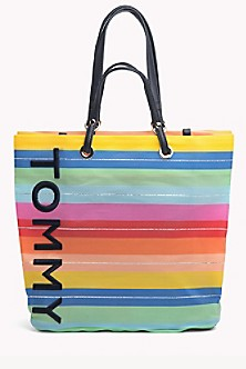 caae3293 Tommy Rainbow Tote. Quick View for Tommy Rainbow Tote. TOMMY HILFIGER