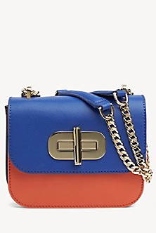 04de7b98b02 Leather Turnlock Crossbody Bag. Quick View for Leather Turnlock Crossbody  Bag. TOMMY HILFIGER