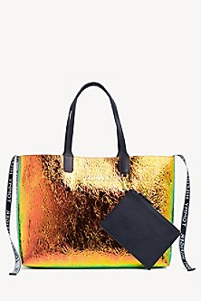 a45a95f97 Crushed Iridescent Tote. Quick View for Crushed Iridescent Tote. TOMMY  HILFIGER