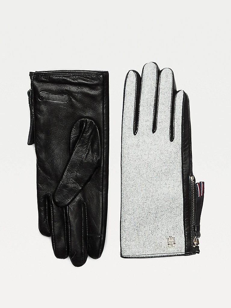 NEW Wool & Leather Gloves