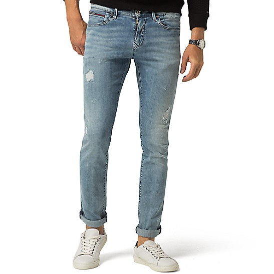 527e12b076d1 SALE Distressed Slim Fit Jean