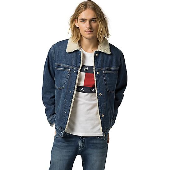 cc8b88746 Tommy Jeans Fleece-Lined Denim Jacket | Tommy Hilfiger