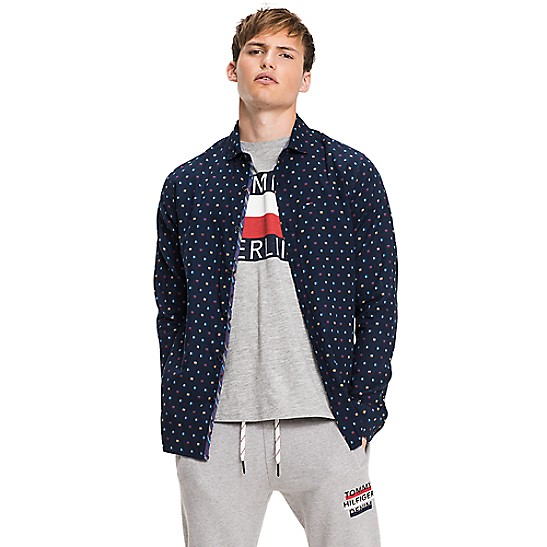 Outlet New Cotton Patterned Shirt UK6 - Sales Up to -50% Tommy Hilfiger Fake Clearance Cheap Online Best Seller For Sale Cheap Sale Sneakernews A09cy