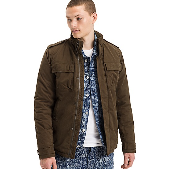 Regular Fit Military Shirt XL - Sales Up to -50% Tommy Hilfiger Outlet Shop For Offer Cheap New Arrival Cheap Sale How Much Geniue Stockist Sale Online FYHaU47