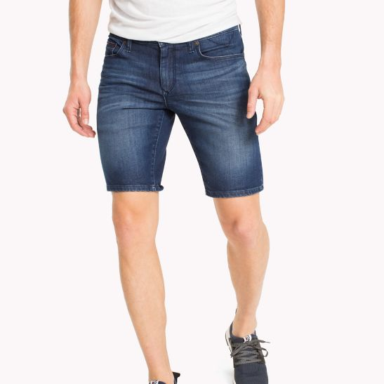 Bermuda Skinny Fit Shorts - Sales Up to -50% Tommy Hilfiger