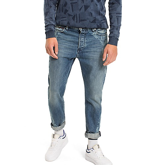 Tommy Jeans cropped denim jeans Buy Cheap Discounts Outlet Low Shipping Clearance Sneakernews jdp2NWx