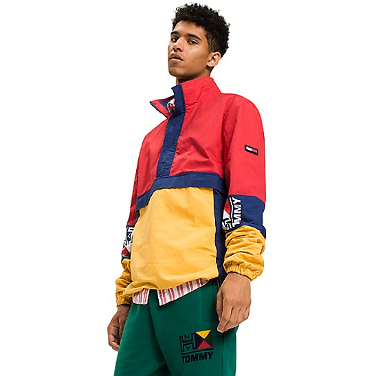 6740be5ce42 Retro Pullover Jacket   Tommy Hilfiger