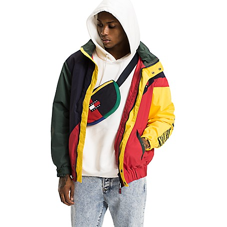 ea1384693 Capsule Collection Colorblock Jacket