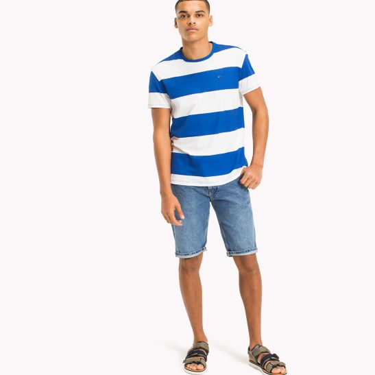 Stripe Relaxed Fit T-Shirt - Sales Up to -50% Tommy Hilfiger