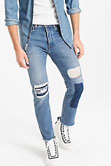 Tommy Jeans RELAXED CROPPED RANDY - Vaqueros boyfriend - denim wfl2WQH