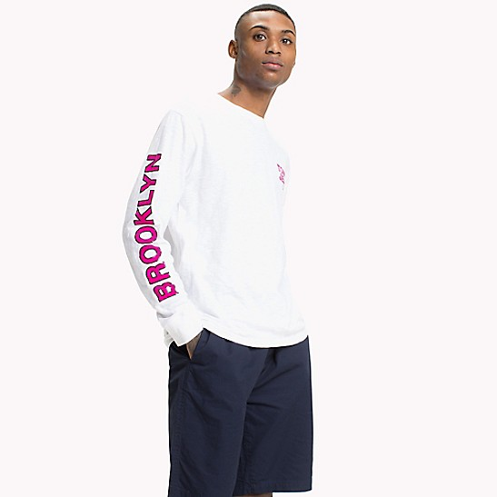 cbafa89db Brooklyn Long-Sleeve T-Shirt | Tommy Hilfiger