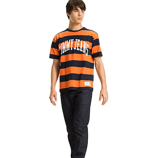Professional Online Bold Stripe Boxy T-Shirt - Sales Up to -50% Tommy Hilfiger Visa Payment For Sale Geniue Stockist For Sale Low Price VGnMui0A7F