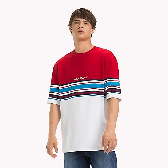 715e56327e Colorblock Stripe T-Shirt | Tommy Hilfiger