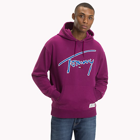 b75697942 Tommy Jeans XPLORE Signature Hoodie | Tommy Hilfiger