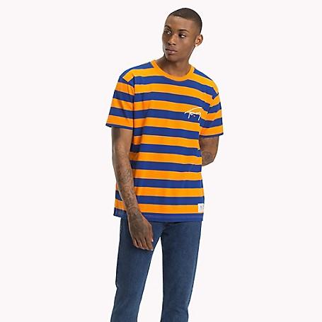 8601e3072e Tommy Jeans XPLORE Signature Stripe T-Shirt | Tommy Hilfiger