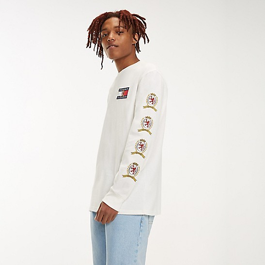 754b8519 Crest Capsule Long-Sleeve T-Shirt | Tommy Hilfiger