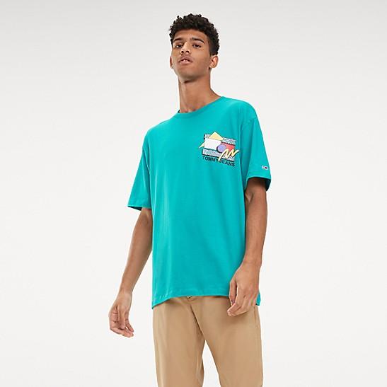 32032a22 Retro Logo T-Shirt | Tommy Hilfiger