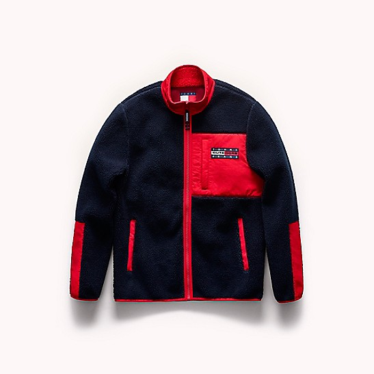 Tommy Jeans Outdoors Flag Zip Fleece Tommy Hilfiger
