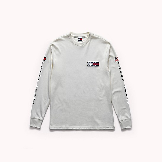 Tommy Jeans Outdoors Long Sleeve T Shirt Tommy Hilfiger