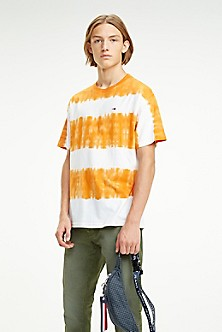 002cfe2c04076 Organic Cotton Dye Stripe T-Shirt