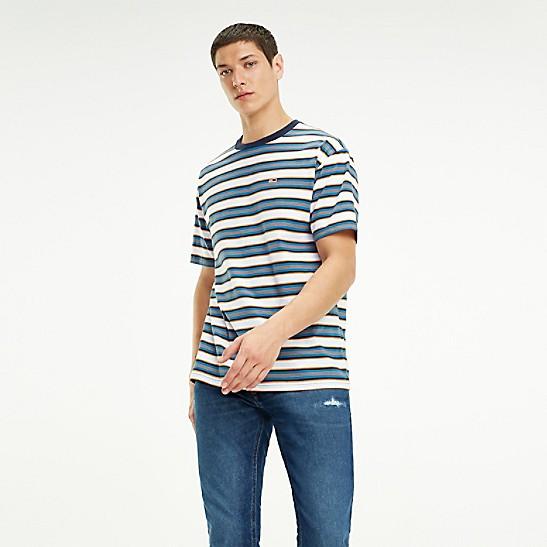 c898db03f Organic Cotton Retro Stripe T-Shirt | Tommy Hilfiger