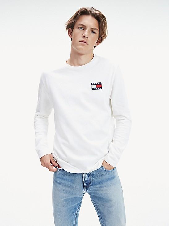 TOMMY HILFIGER Women/'s  Long-Sleeve Graphic T-Shirt Sweatshirt Top Size M//L//XL
