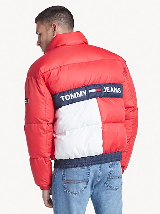 Tommy Hilfiger Tommy Jeans Mens Colorblock Jacket