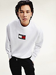 Organic Cotton Logo Sweatshirt   Tommy Hilfiger