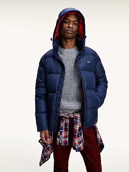 TOMMY JEANS Recycled Shell Down Jacket