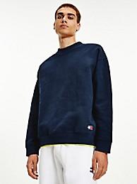 타미 진스 맨 맨투맨 TOMMY JEANS Organic Cotton Modern Sweatshirt,desert sky