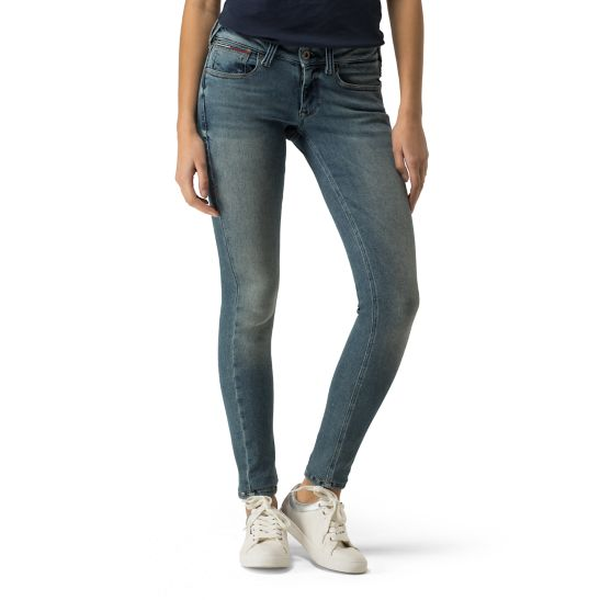 Mid Rise Skinny Fit Jeans - Sales Up to -50% Tommy Hilfiger