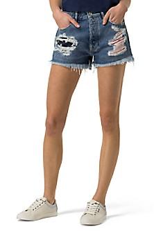 Metallic Hotpant Shorts - Sales Up to -50% Tommy Hilfiger n4ku4p