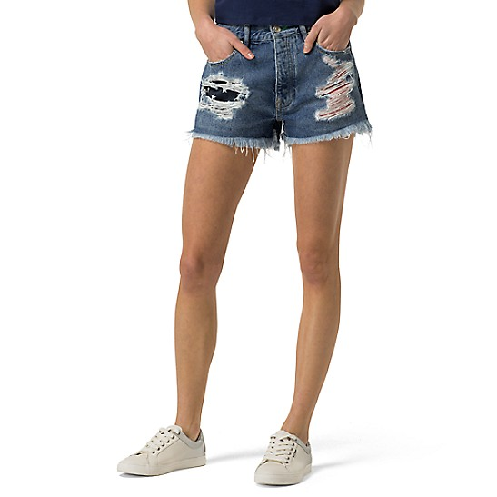 ae90521be7 Tommy Jeans Destroyed Denim Short | Tommy Hilfiger