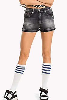 Womens Tjw Hotpant Denim Short Straight Jeans Tommy Jeans Discount Genuine nLLZ8y