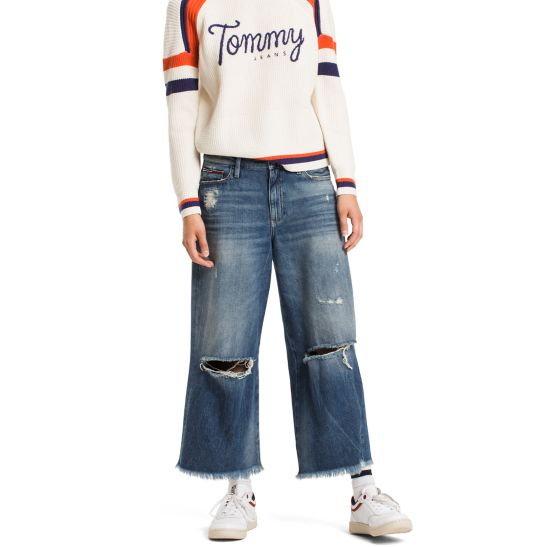 Jersey Culotte Trousers S - Sales Up to -50% Tommy Hilfiger