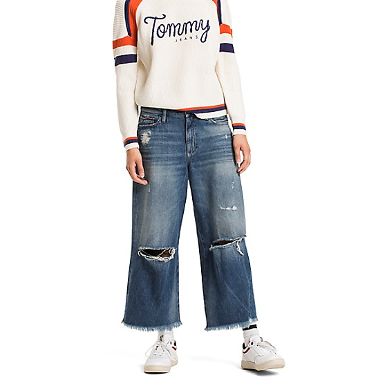 Jersey Culotte Trousers S - Sales Up to -50% Tommy Hilfiger Find Great For Sale TuDkna
