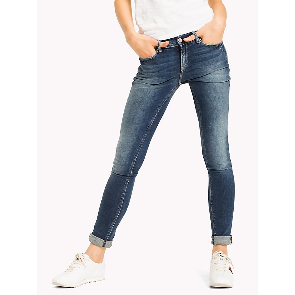 Mid Rise Skinny Fit Jean
