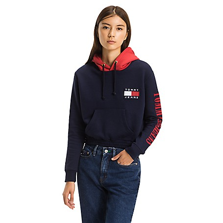 9c0e2c54 Capsule Collection Cropped Hoodie | Tommy Hilfiger