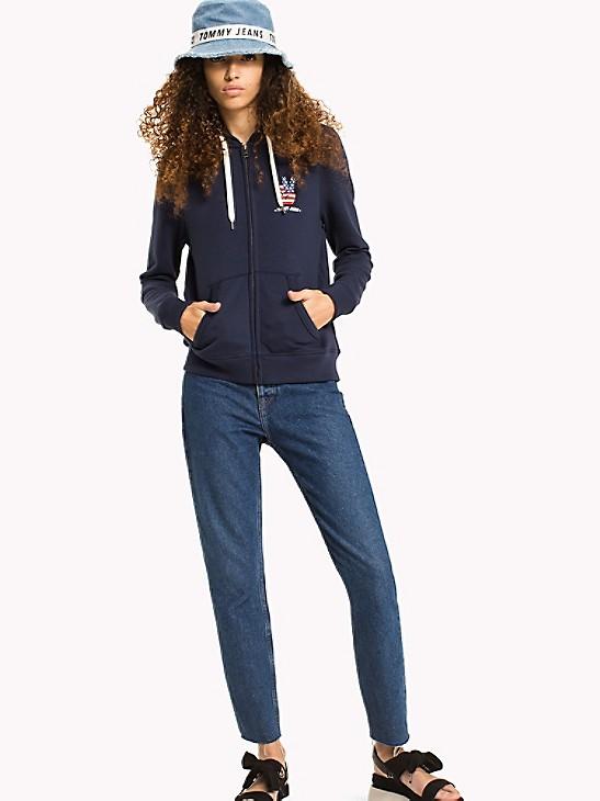Tommy Hilfiger Girls Full Zip Fashion Hoodie