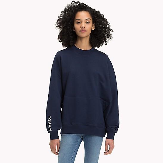 Tommy Jeans Sweat shirt oversize à logo | tumblr | Mode