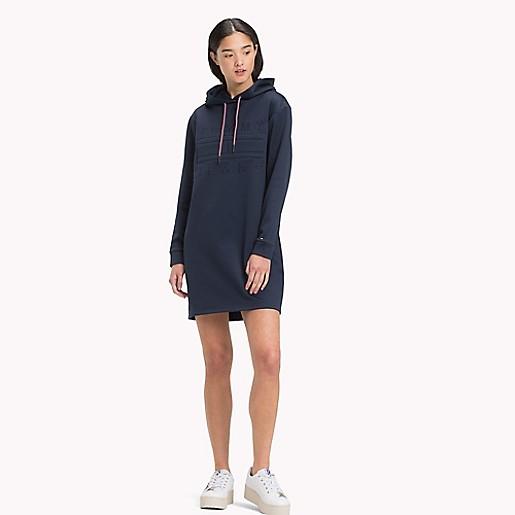 heiße neue Produkte Laufschuhe Veröffentlichungsdatum: Logo Hoodie Dress