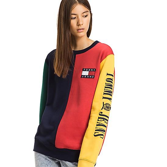 Capsule Collection Colorblock Sweatshirt