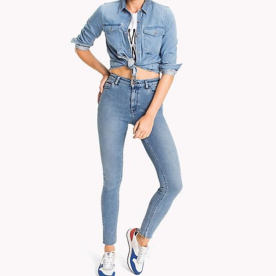 8b049fc7 High Rise Skinny Fit Jean | Tommy Hilfiger