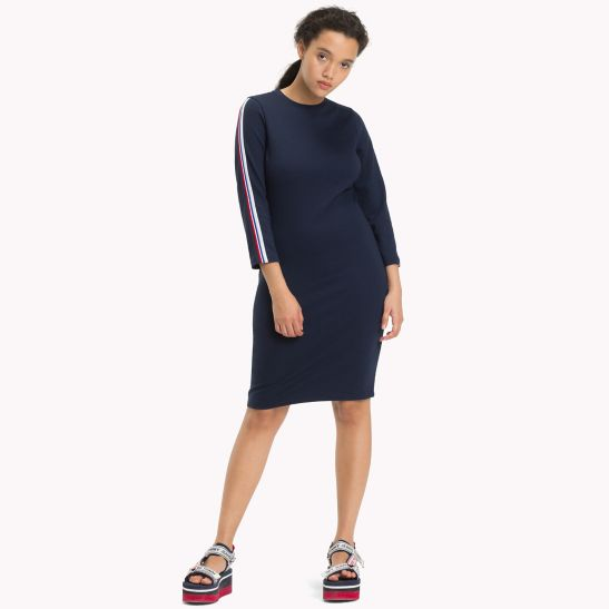 Jersey Bodycon Dress - Sales Up to -50% Tommy Hilfiger