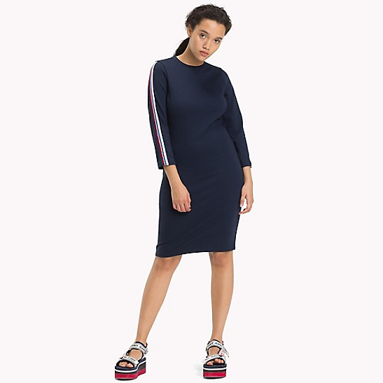 Jersey Bodycon Dress - Sales Up to -50% Tommy Hilfiger YCuDcL