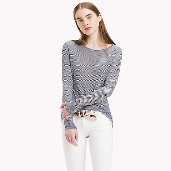 0ea3b8d1192 Stripe Long-Sleeve T-Shirt | Tommy Hilfiger