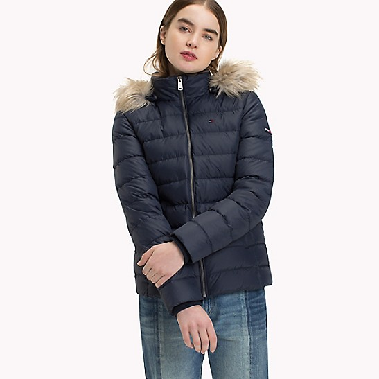 Essential Hooded Down Jacket