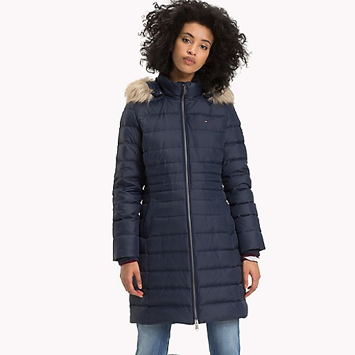 Essential Hooded Down Coat