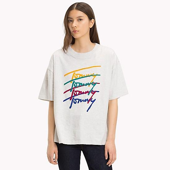 03c8aca42 Multi Logo T-Shirt | Tommy Hilfiger